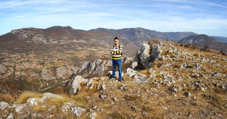 Sićevačka klisura – vrh Kusača, 771 m