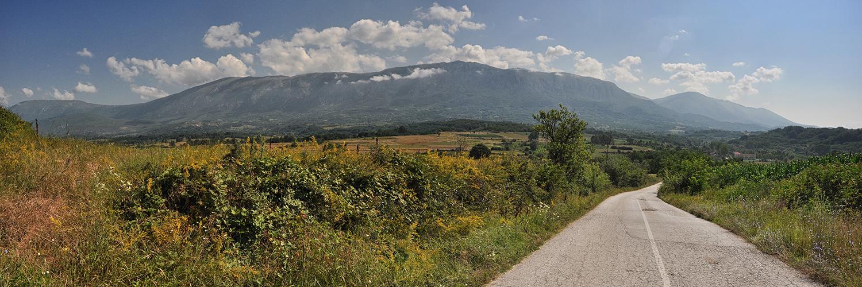 Težim putem do Leskovca
